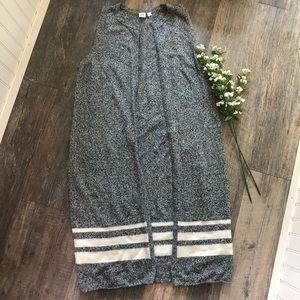 GAP | Heathered Grey Merino Wool Duster Vest
